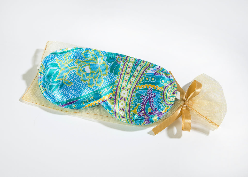 OceanAire Sleep Mask in Palm Beach Paisley Silk