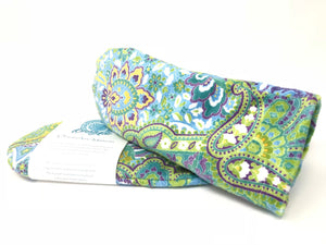 Ocean Aire Spa Mittens in Palm Beach Paisley
