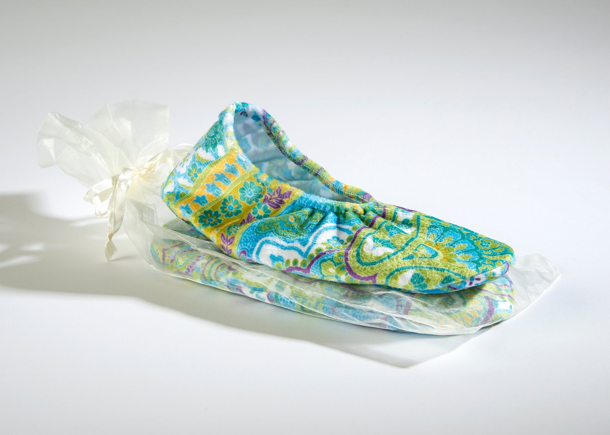 OceanAire Spa Footies in Palm Beach Paisley