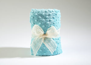 OceanAire Spa Heat Wrap in Aqua Embossed Dot
