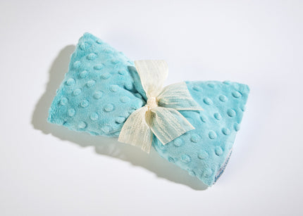 OceanAire Spa Mask in Aqua Embossed Dot