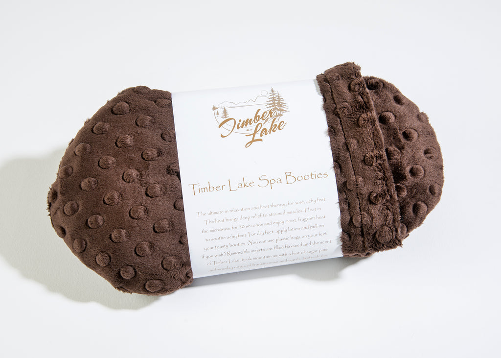 Timber Lake Spa Booties in Sedona Brown