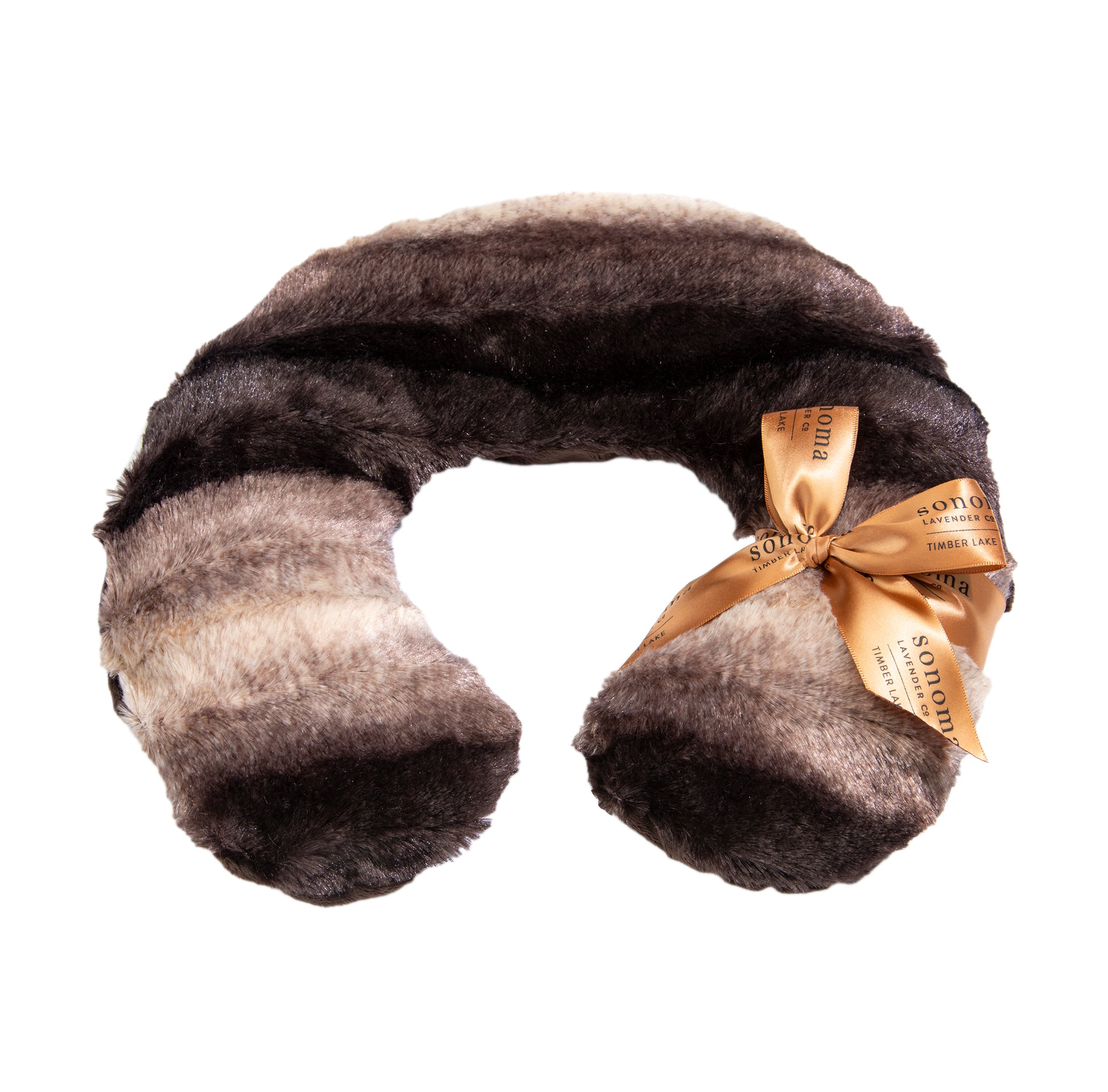 NEW! Timber Lake Neck Pillow Chinchilla