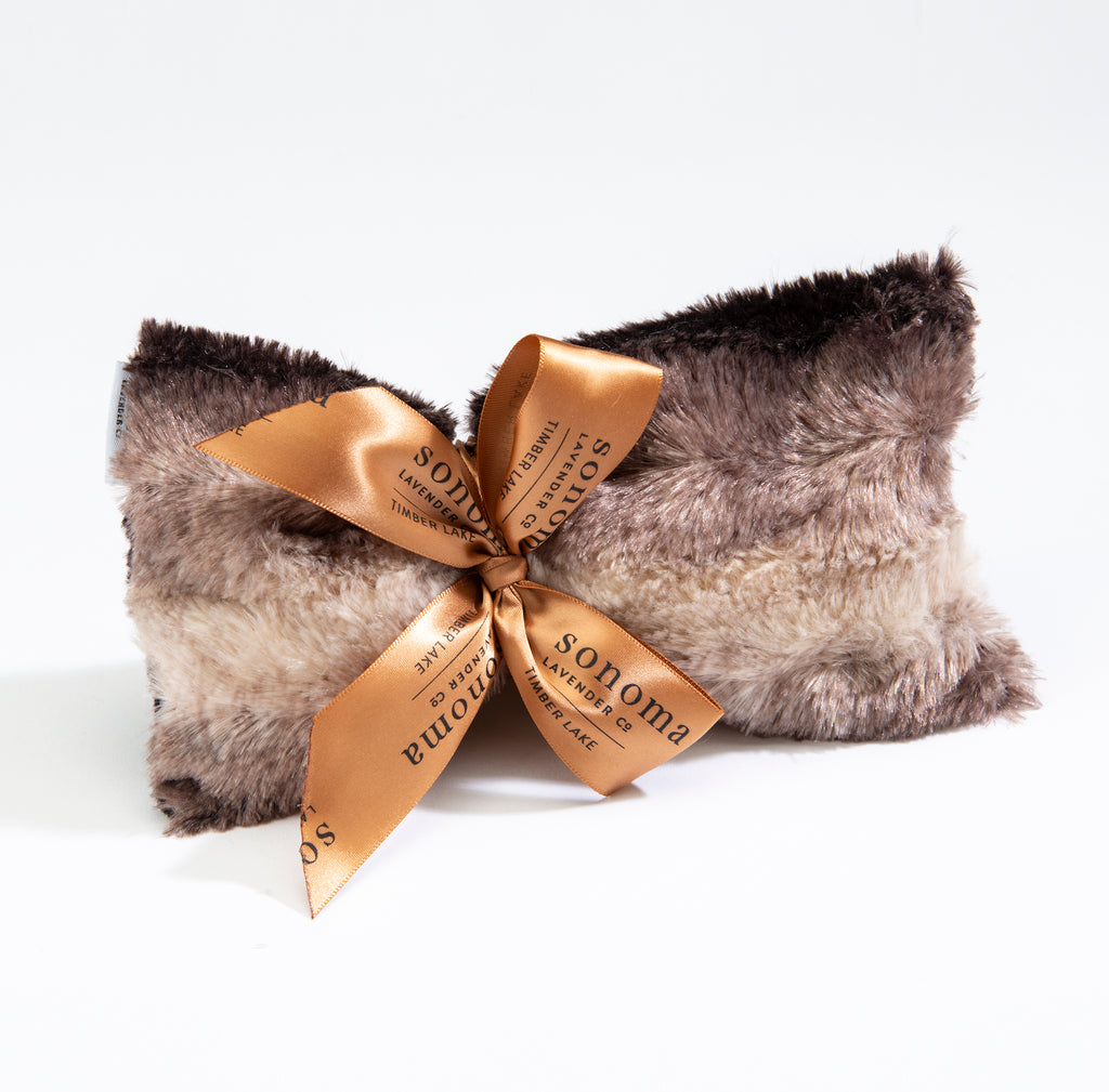 Timber Lake Spa Mask in Luxurious Fax Chinchilla Fur