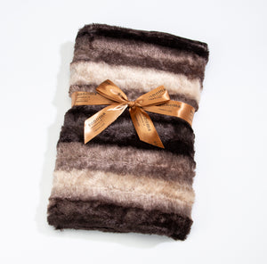 Timber Lake Spa Blankie in Luxurious Faux Chinchilla Fur