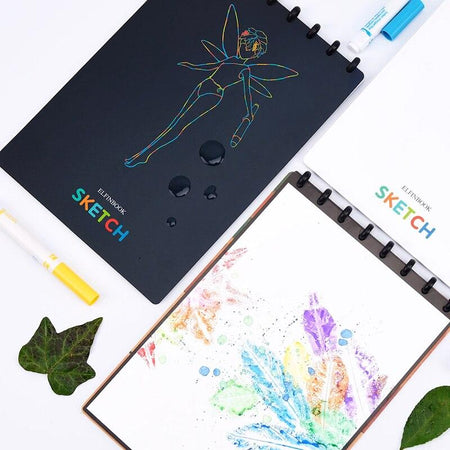 Elfinbook™ Smart Reusable Sketchpad