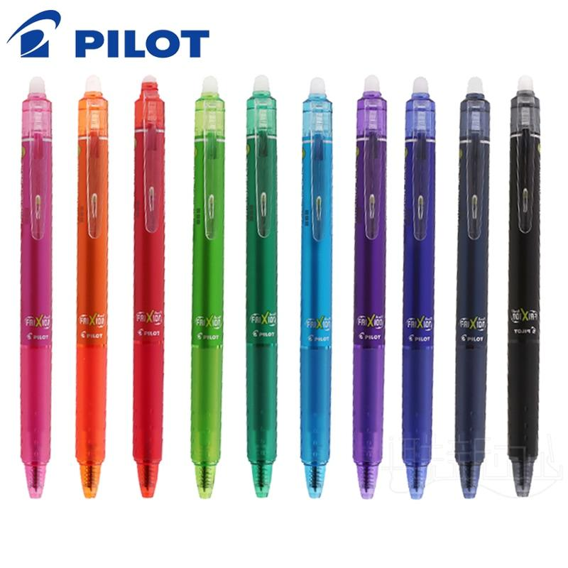 10 Pack Pilot Frixion Color Pens - 0.5mm