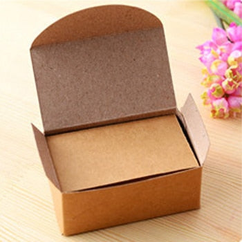 100 pcs/lot Kraft Paper Notes