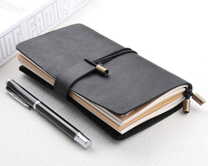 Refillable Leather Traveler's Journal