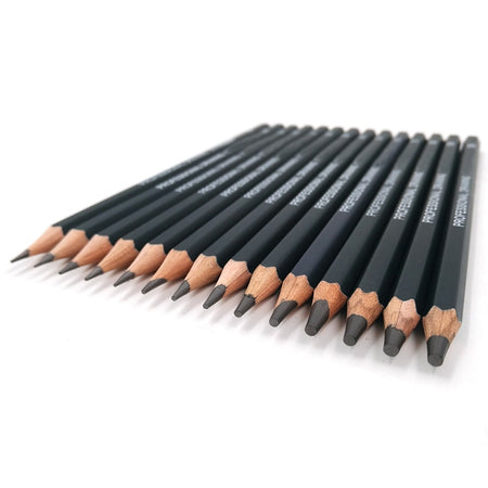 14 pcs/set Professional Drawing Pencil Set