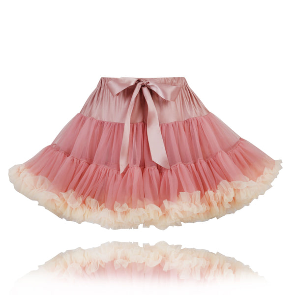 Tea Pink Cream Couture Pettiskirt