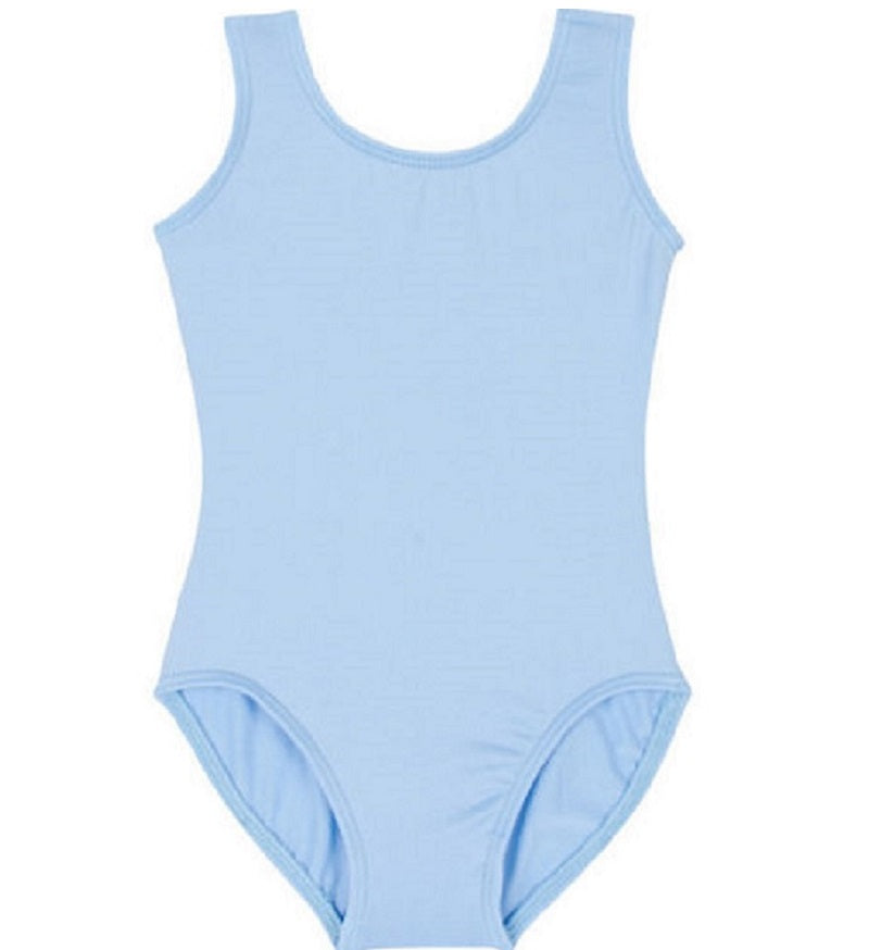 Baby Blue Sleeveless Leotard