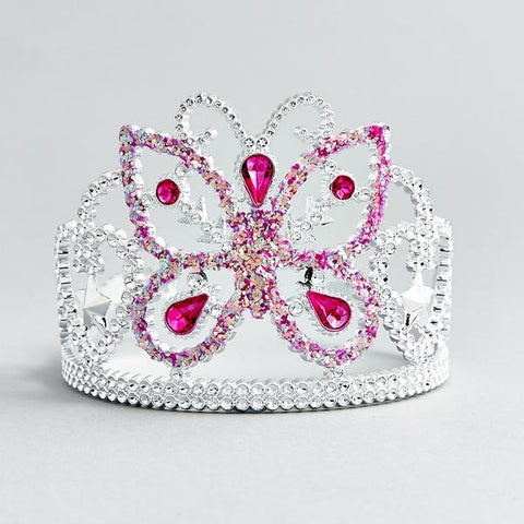 Girls Butterfly Sparkle Tiara