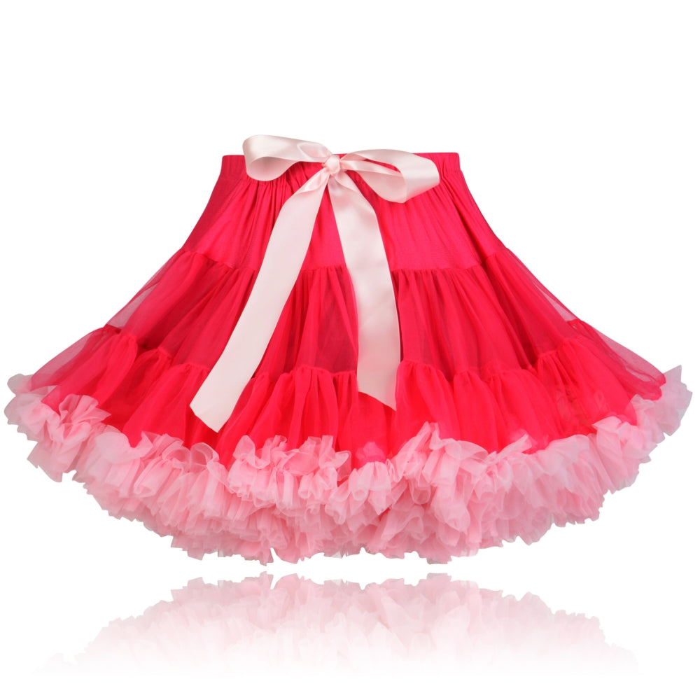 Raspberry Ripple coloured Couture Pettiskirt
