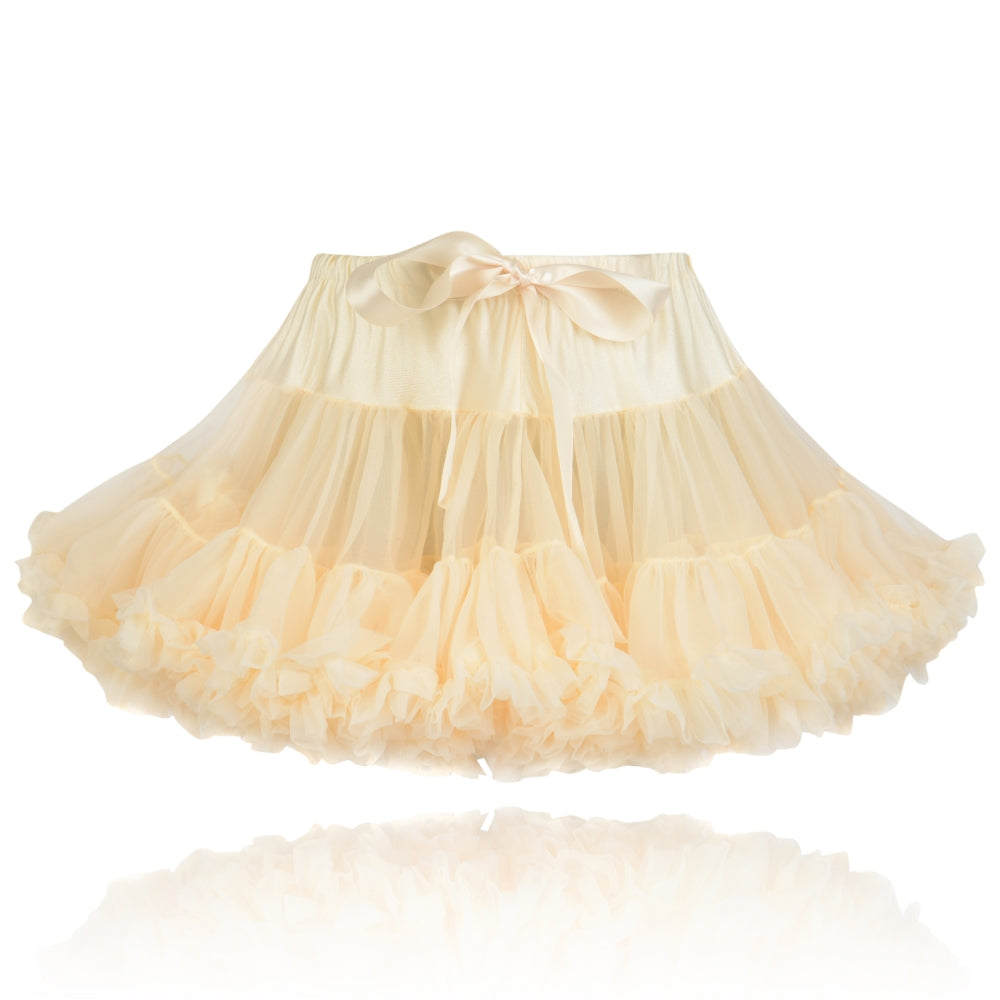Peachy Cream Classic Pettiskirt