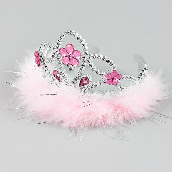 Feather and Gem Tiara