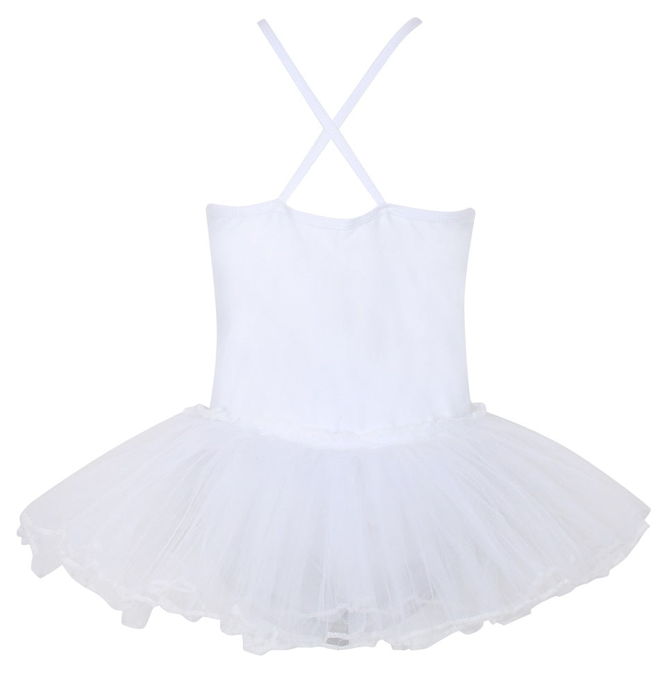 Tutu Leotard - White