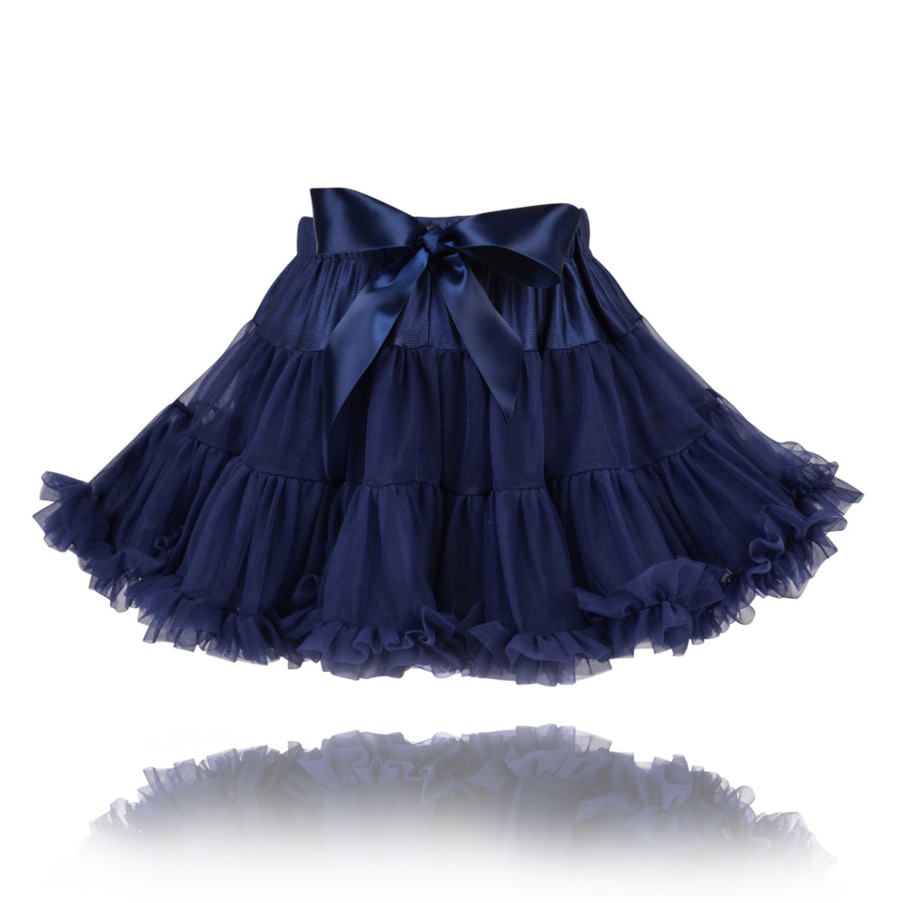 Navy Couture Pettiskirt