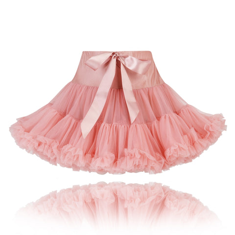 Girls Tea Pink Couture Party Pettiskirt