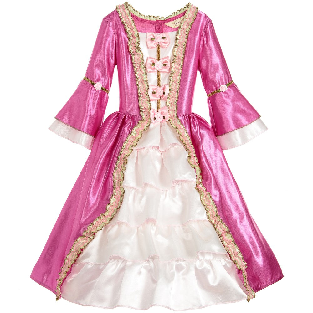 Pink and white Historic Marie Antoinette Costume