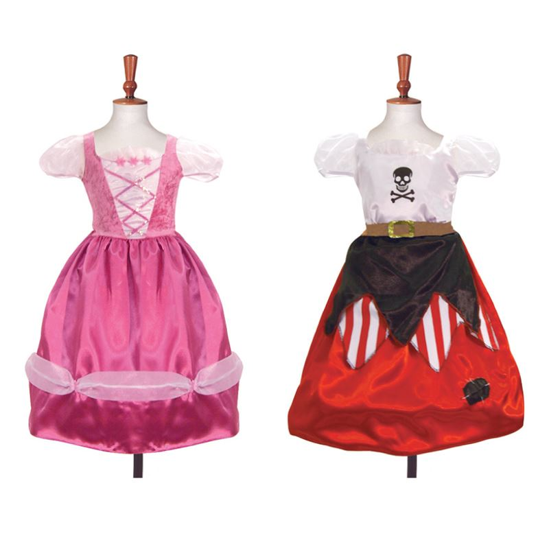Reversible Pirate / Princess Costume