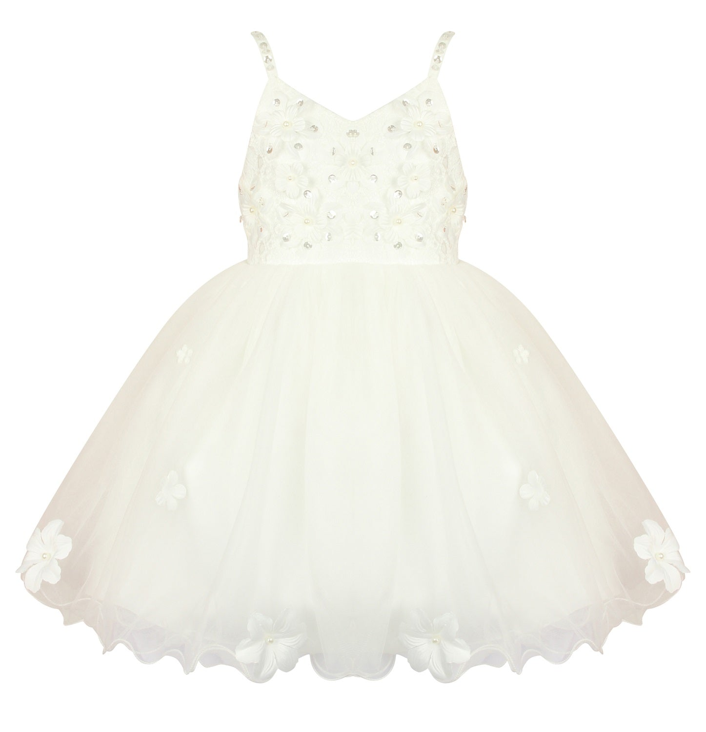 Ivory Flower Girl - Daisy May