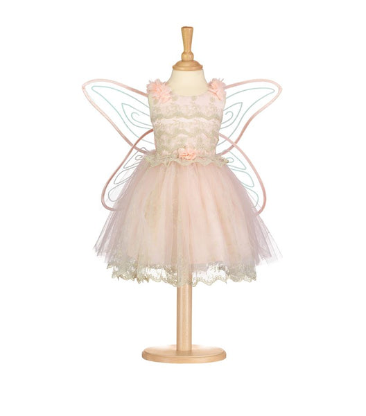 6-8 years Vintage Peach Fairy Dress With Wings by Travis Dress Up By Design