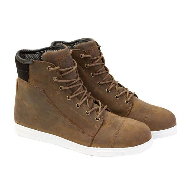 Dylan Leather Boots, Brown