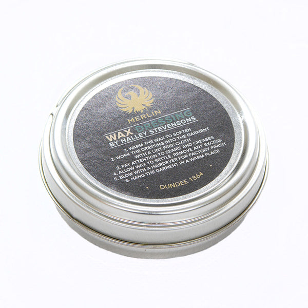 Waxed Cotton Reproofing Tin, 50ml.