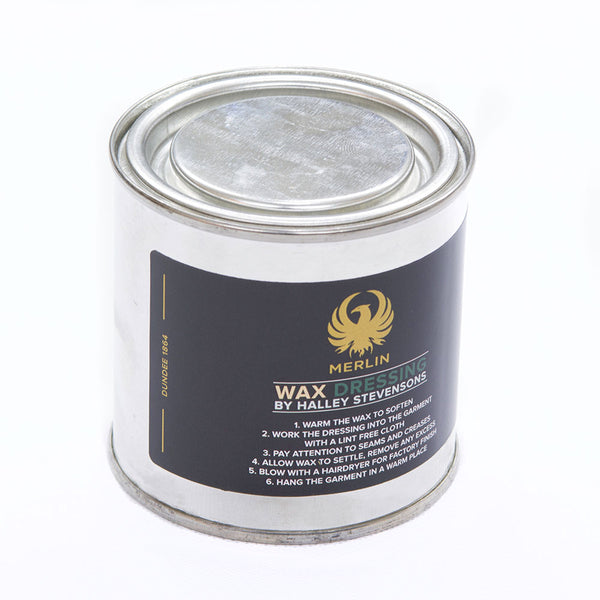 Waxed Cotton Reproofing Tin, 200ml.