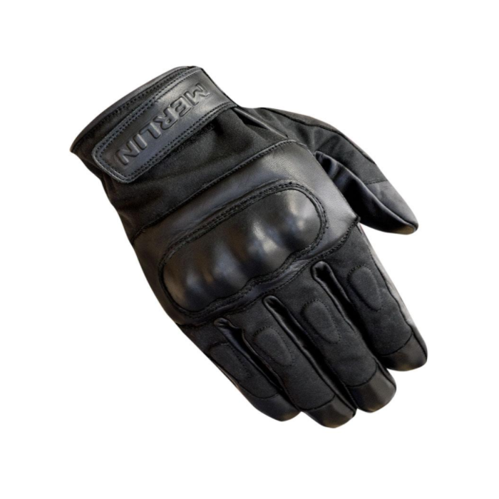 Ranton Leather Gloves, Black