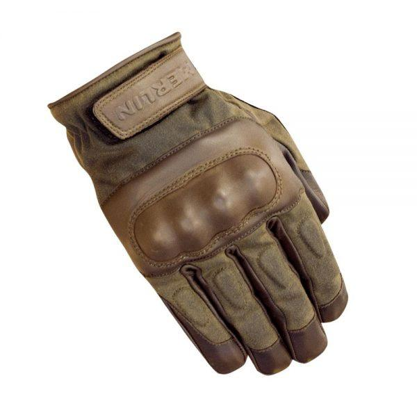 Ranton Leather Gloves, Brown