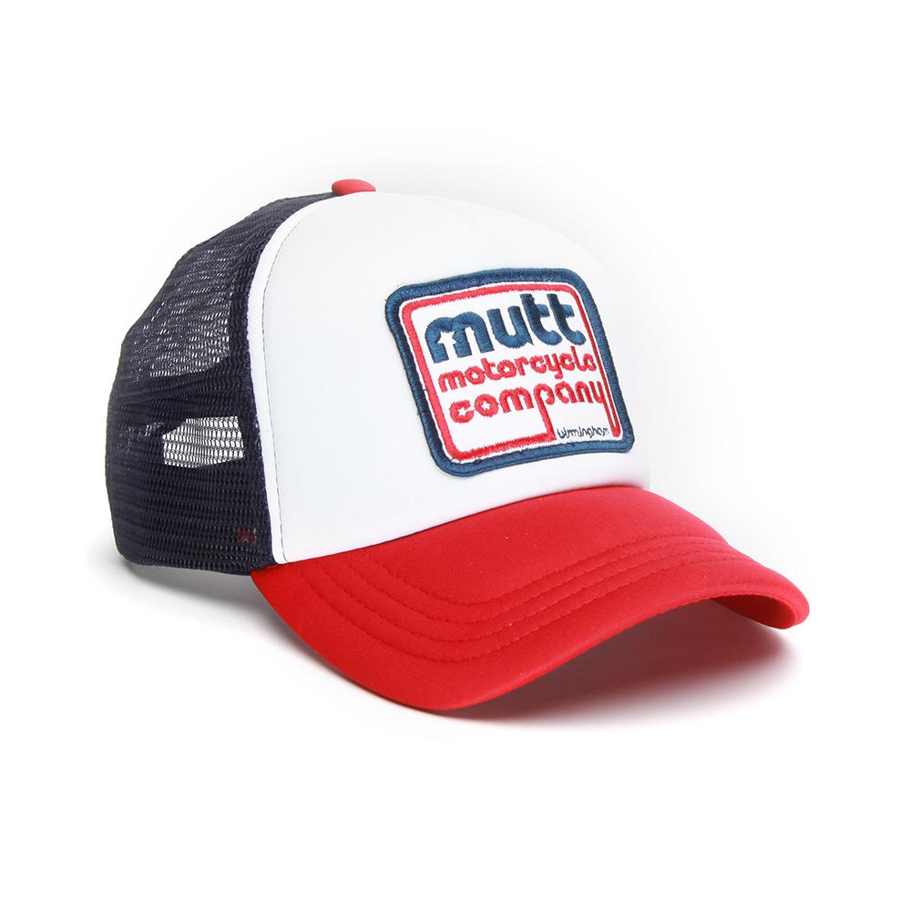 Mutt 70s Cap White/Navy/Red