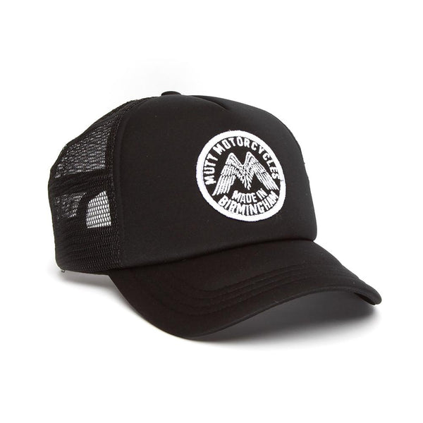 Mutt Wings Patch Cap, Black