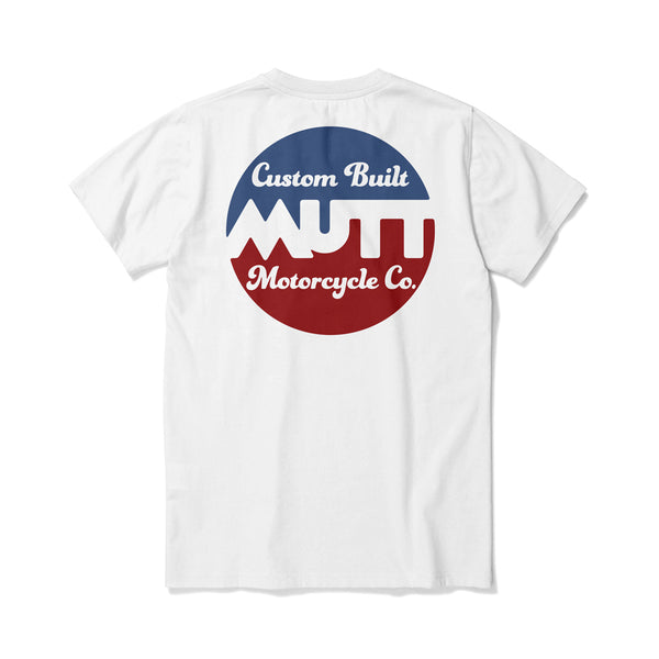 Mutt Custom Build T-Shirt - White
