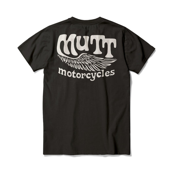 Mutt Flyer T-Shirt - Black