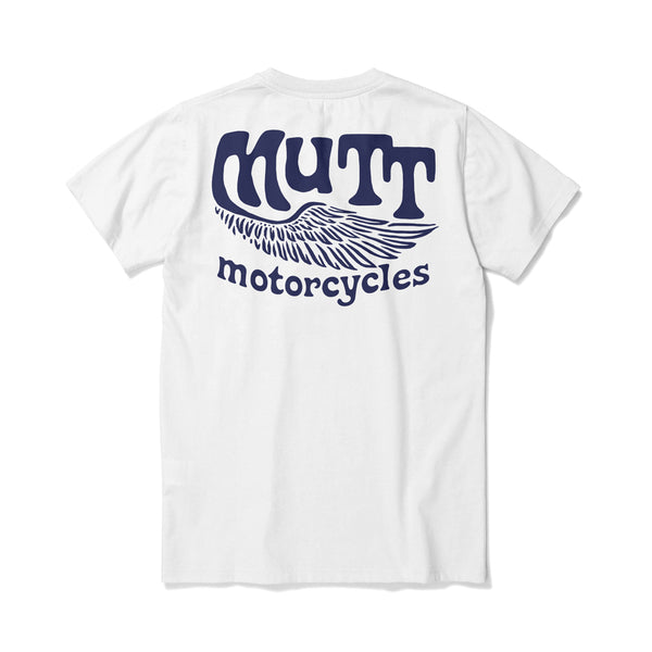 Mutt Flyer T-Shirt - White