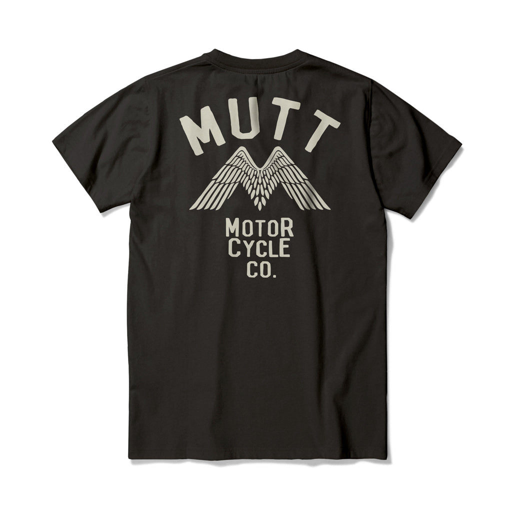 New Mutt Wings T-Shirt - Black