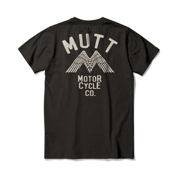 Mutt Wings T-Shirt - Black
