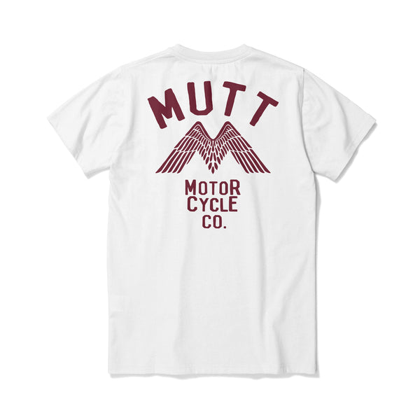 New Mutt Wings T-Shirt - White