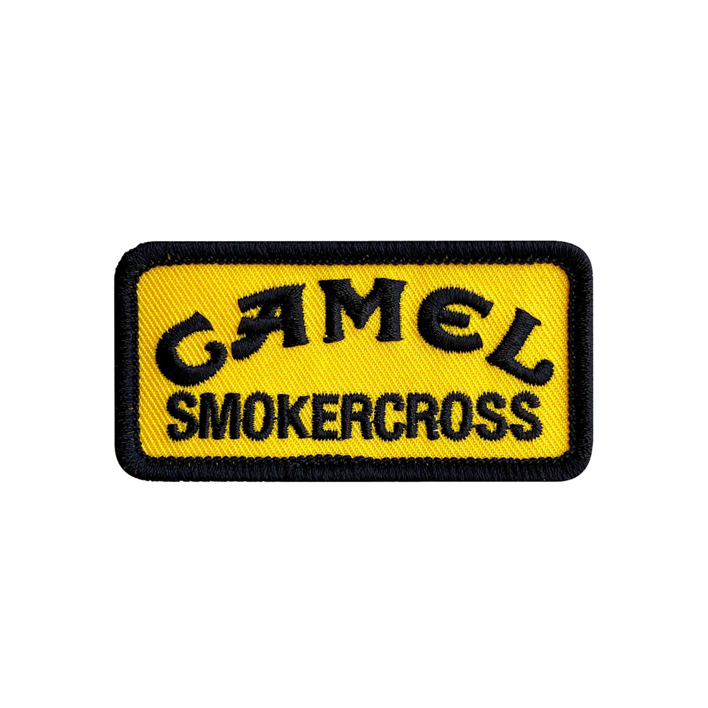 Camel Smokercross Patch Small