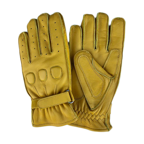 Yellow Leather Glove