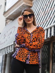 Camisa Niara Animal Print Coleccion Africa