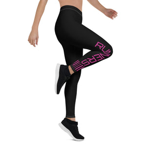 Competitor Leggings - Pink