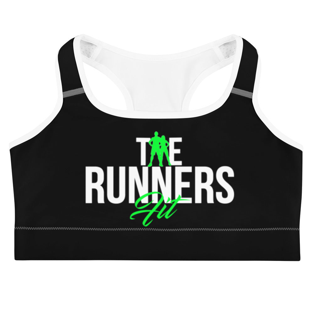 Runners Sports Bra - Black