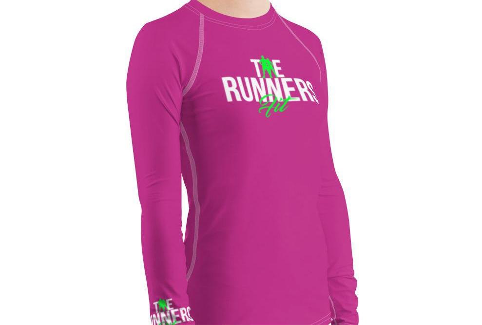 Runners Rash Guard - Pink