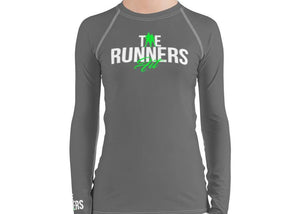 Runners Rash Guard - Gray