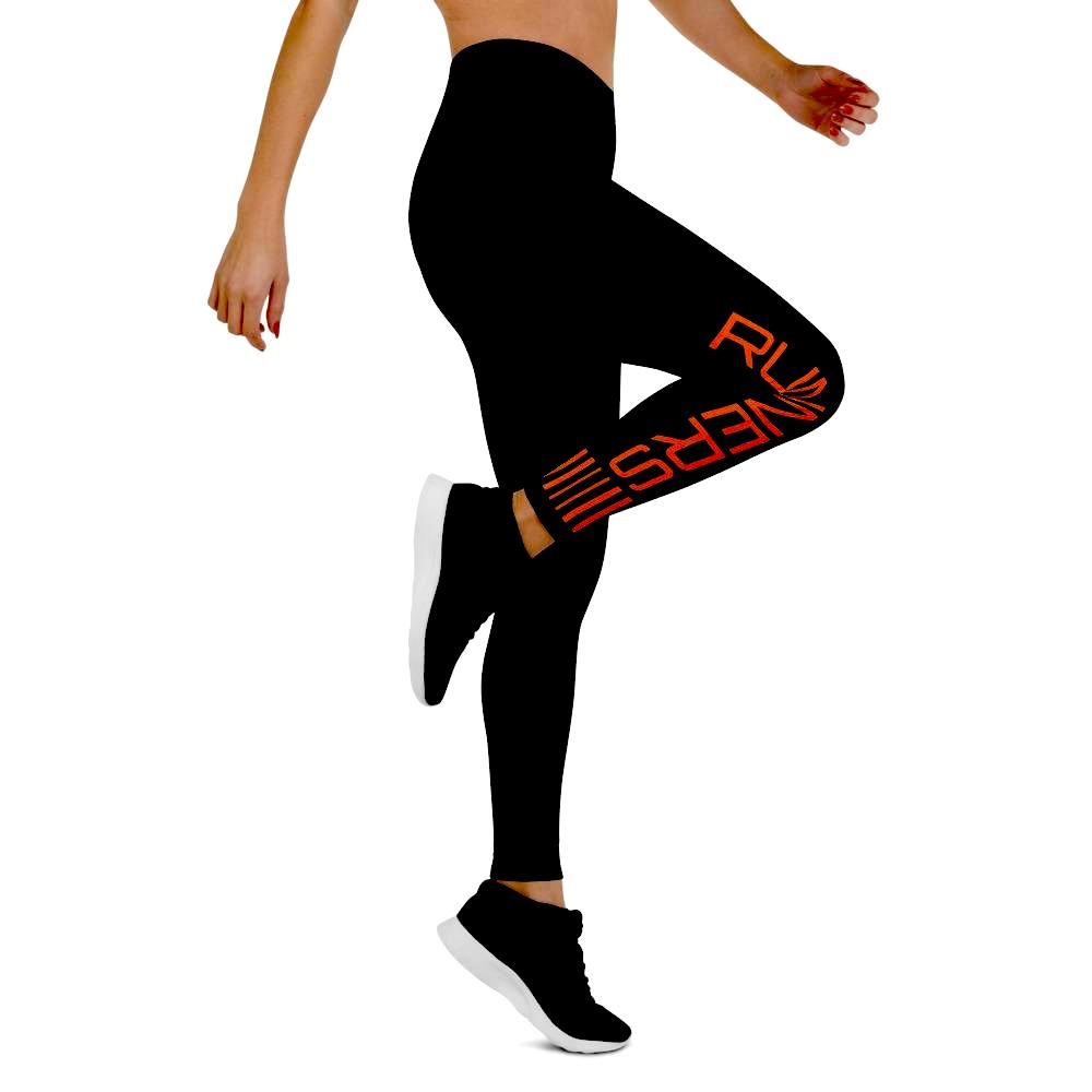Competitor Leggings - Orange