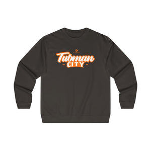 Tubman City - Midweight Crewneck Sweatshirt (Orange)