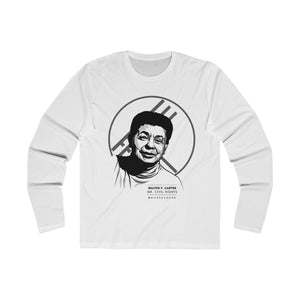 Walter P. Carter #BmoreLegend - Long Sleeve Crew Tee